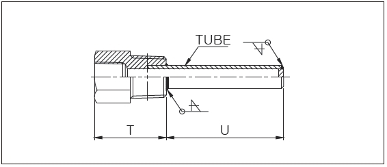 A500 PIPE TYPE THERMOWELL